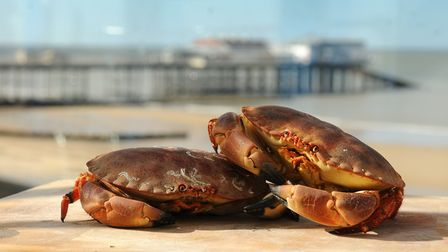 Cromer crab is one of Norfolk's most famous delicacies.