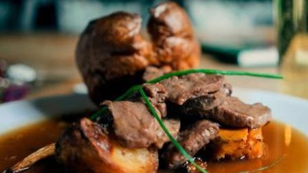 The Red Lion atGrantchester is one of the best places to enjoy a roast dinner in Cambridgeshire.