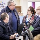 MP Keith Simpson visits the groups showcase day. Picture: Matthew Usher.