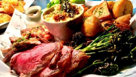 The White Pheasant in Fordham is one of the best places to enjoy a roast dinner in Cambridgeshire