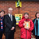 A group from Wymondham have raised £3000 to fund a new defibrillator sited on the front wall of the