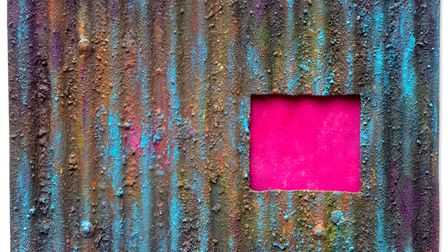 A piece that will feature in the show, called Corrosive Pink by Paul Smith.