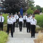 Cambridgeshire's 19 new police officers are pictured at their passing out ceremony