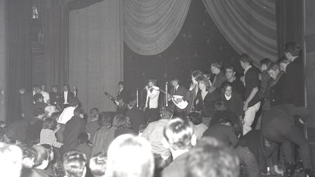 The Rolling Stones at Ipswich Gaumont on October 9, 1964