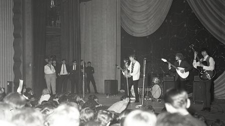 The Rolling Stones at the Ipswich Gaumont on October 9, 1964