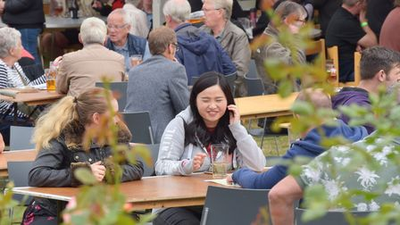 The East Anglian Beer and Cider Festival is being held for the 29th time