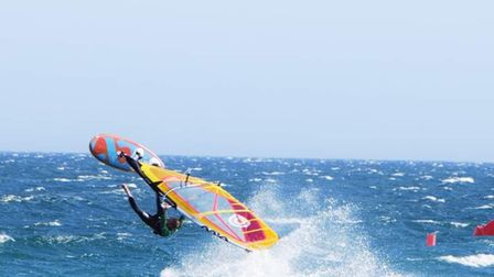 Darren has travelled the world to windsurf, including in Australia and Hawaii