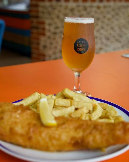 Eric's, St Ives, is one of the best places to enjoy fish and chips in Cambridgeshire.