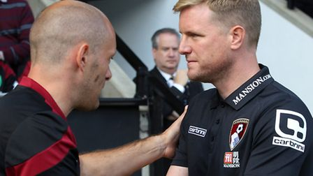 Norwich boss Alex Neil and Bournemouth counterpart Eddie Howe are the two youngest Premier League ma