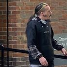 Ricky McWee who has been accused of animal welfare offences, including causing unnecessary suffering to a Reticulated Python
