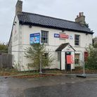 The Ark pub in Thetford has been left derelict for more than a year. Photo: Emily Thomson