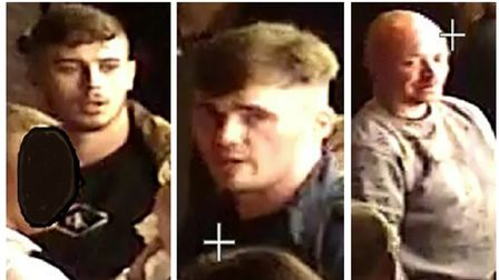 Three men police want to trace following incident in Brick Lane 3.30am on July 25, 2021