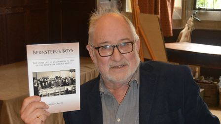 Councillor Mike Rouse (pictured) with his new book 'Bernstein's boys' that launcheson Saturday September 4 at 11am.