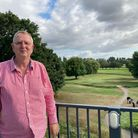 David Harris, of M&D Developments, at All Saints Hotel Golf and Spa at Fornham St Genevieve in west Suffolk.