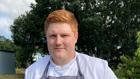 Adam Spicer, the new chef there.