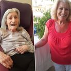 Murieal Bassinder, who has been a resident at Oulton Park care home in Lowestoft for three years.