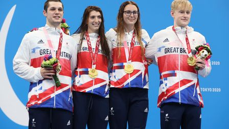 Handout photo dated 28/08/2021 provided by ParalympicsGB/imagecomms of Great Britain's Jessica Apple