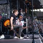 McFly performed at Newmarket Racecourse for Summer Saturday Live on August 28, 2021