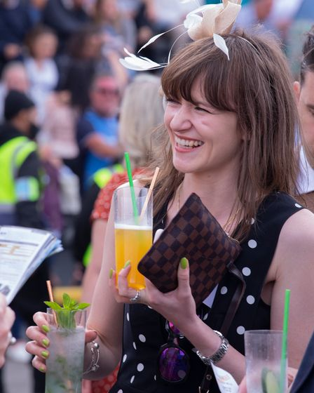 Summer Saturday at Newmarket Racecourse