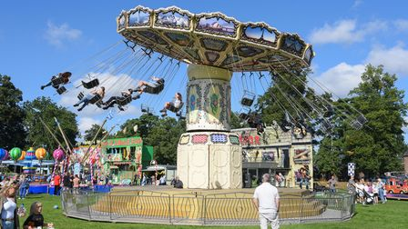 Some of the fairground rides at King's Lynn Festival Too. Picture: Danielle Booden