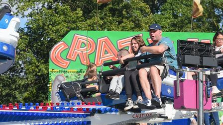 People enjoying the rides at King's Lynn Festival Too. Picture: Danielle Booden
