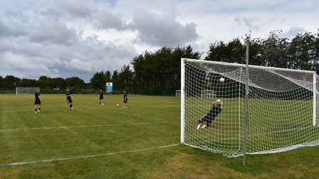 It is hoped the grant for Claydon FC will help more people to play football