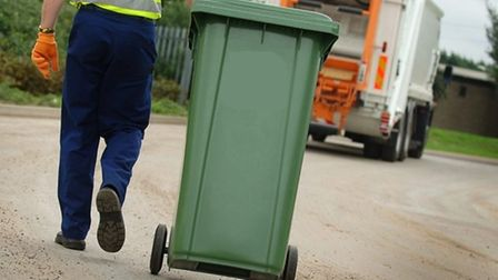 New larger green bins will be supplied by Suffolk Coastal for garden waste Picture: ARCHANT