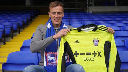 Ipswich Town have signed goalkeeper Christian Walton on loan from Brighton and Hove Albion