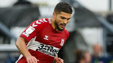 Ipswich Town are keen on Sam Morsy of Middlesbrough