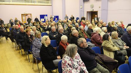 Downham Market car parking consultation at the Town Hall. Picture: Ian Burt