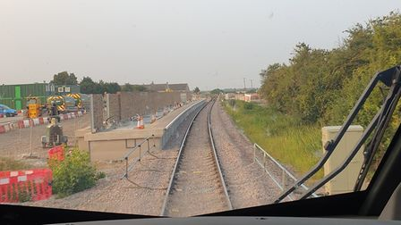 Network Rail hopes trains will be able to start calling at the station from December 2021.