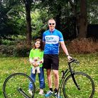 David Bird with his daughter, Jade whowas diagnosed with type one diabetes in August 2019.