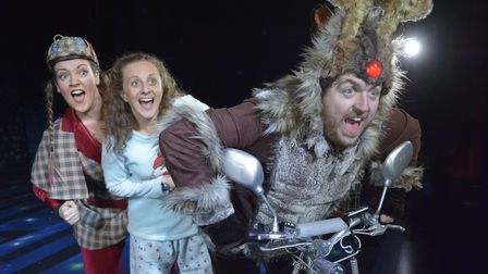 Car Park Panto presents Horrible Christmas at London Stansted Airport this December.