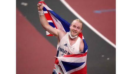 Great Britain's Jonnie Peacock won a joint Bronze medal in the Men's 100m - T64 Final