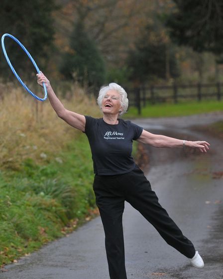 Valerie Ryall has been made a life member of Norfolk Keep Fit Association.