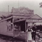 Roys of Wroxham's first Hoveton Store at theturn of the century.