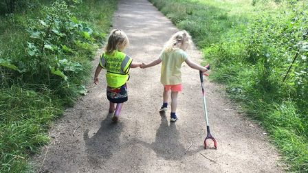 Even the very young are being recruited by the anti-litter charity
