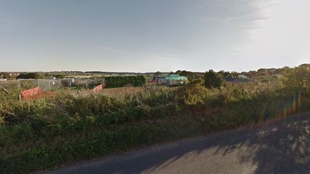 The allotments of Mill Road in Wells-next-the-Sea