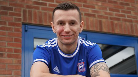 Bersant Celina is back at Ipswich Town