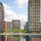 15-acre Westferry development on Millwall's waterfront on the Isle of Dogs