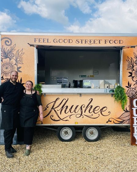Simon Blackwell The Khushee Street Food van will be at the North Norfolk Food and Drink Festival