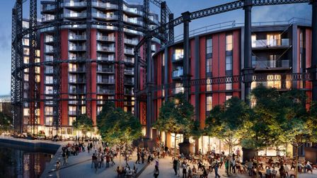 How theold Bethnal Green gasworksredevelopment is shaping up