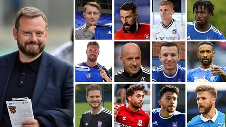 It's been a hectic summer transfer window at Ipswich Town