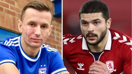 Ipswich Town signed Bersant Celina and Sam Morsy on deadline day