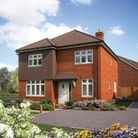 A CGI of The Aspen showhome at Grange Park