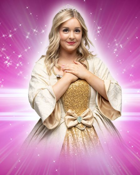 KD Theatre Productions return to The Maltings in Ely with pantomime 'Sleeping Beauty'. Ellie Bovingdon is Princess Aurora.