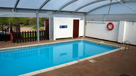 The indoor swimming pool at Croft Country Club near Wisbech