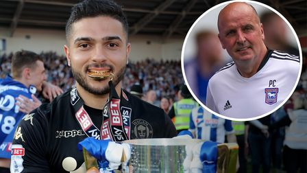 Sam Morsy captained Paul Cook's Wigan side to promotion in 2017/18