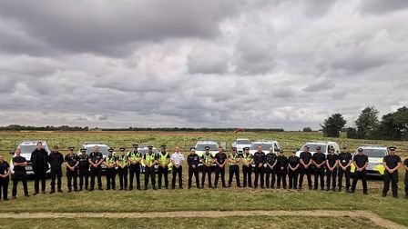 Seven police forces have joined together to tackle hare coursing in the county