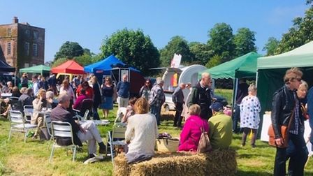 The Grand Brocante antiques and vintage market will take place at Glemham Hall